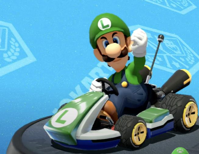Mario Kart, Luigi