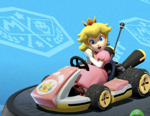 Mario Kart, Peach