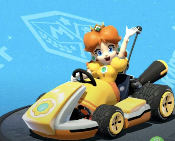 Daisy, Mario Kart