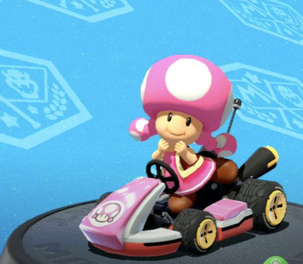 Toadette, Mario Kart