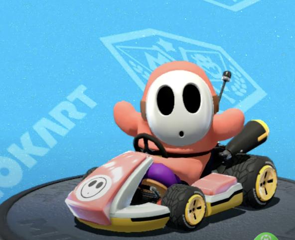 Mario Kart, Shy Guy