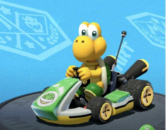 Koopa Troopa, Mario Kart