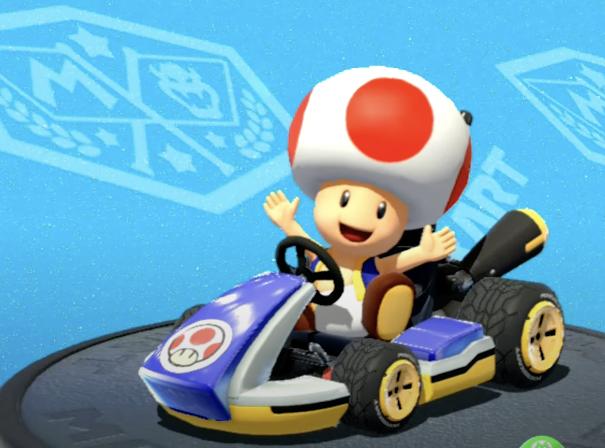 Toad, Mario Kart