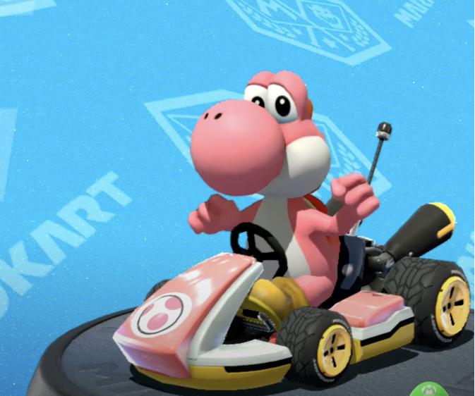 Yoshi, Mario Kart