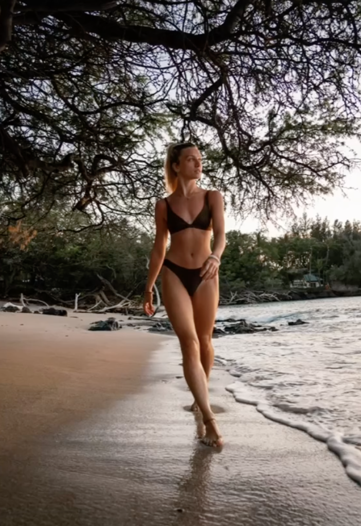 A guide to the best hot girl summer Instagram poses you need this year, beach, bikini, legs