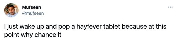 hay fever memes