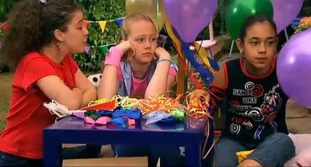 Kids party food, Tracy Beaker