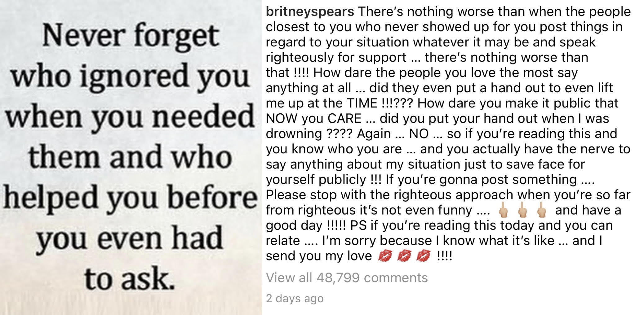 Britney Jamie Lynn Instagram