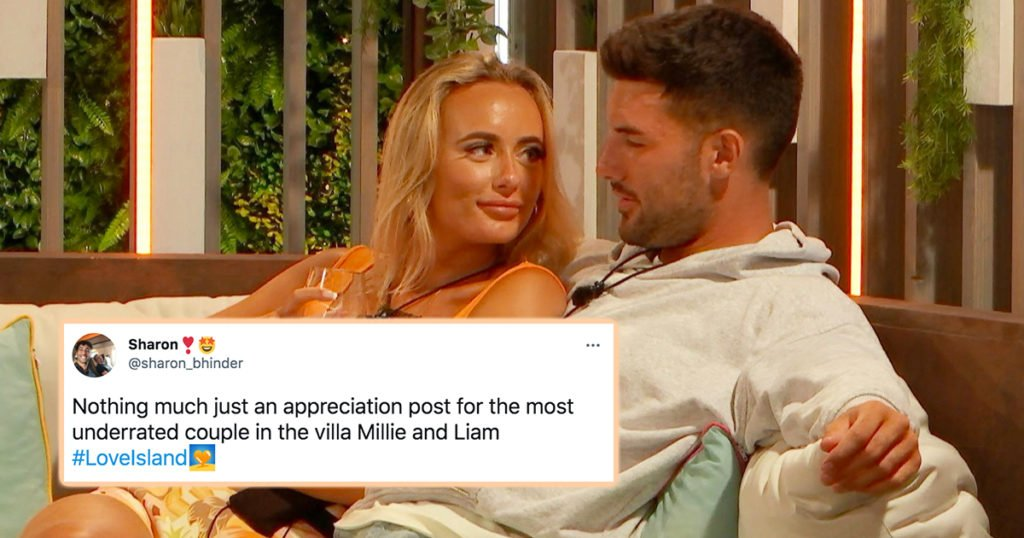 All the best memes and reactions that prove Liam and Millie should win Love Island 2021
