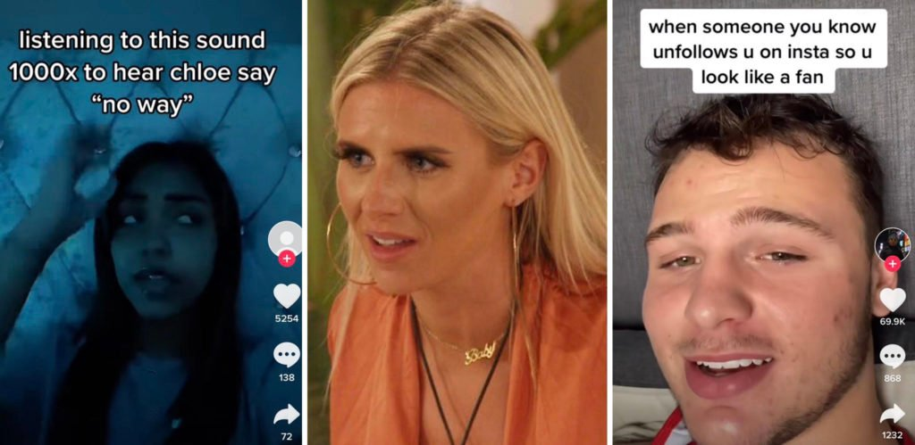Chloe fuming about Toby on Love Island goes viral on TikTok and the movies are hilarious