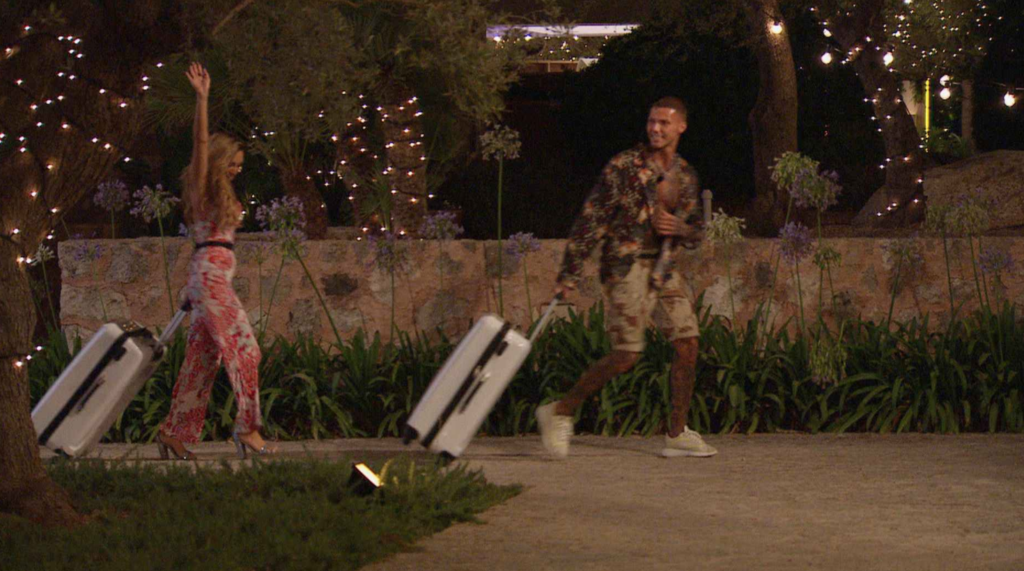 An interview with dumped Islanders AJ and Danny as the exit the Love Island 2021 villa last night