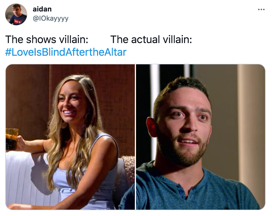 Best memes and reactions to reunion episodes Love Is Blind: After the Altar on Netflix