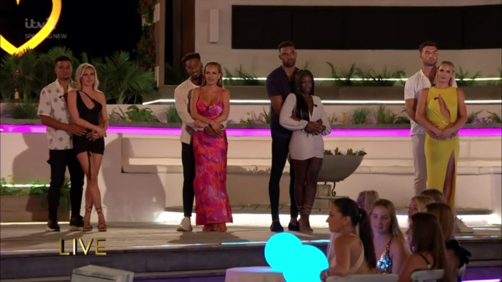 The voting stats and figures for the Love Island 2021 final, how many votes each couple got