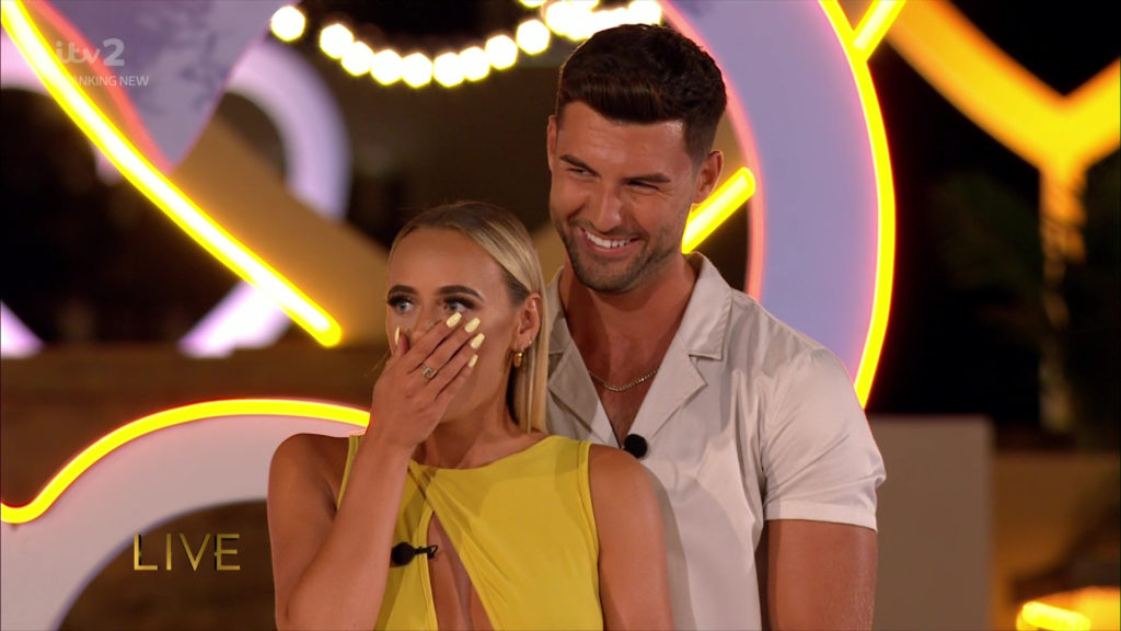 Interview with Love Island 2021 winners Millie Court and Liam Reardon