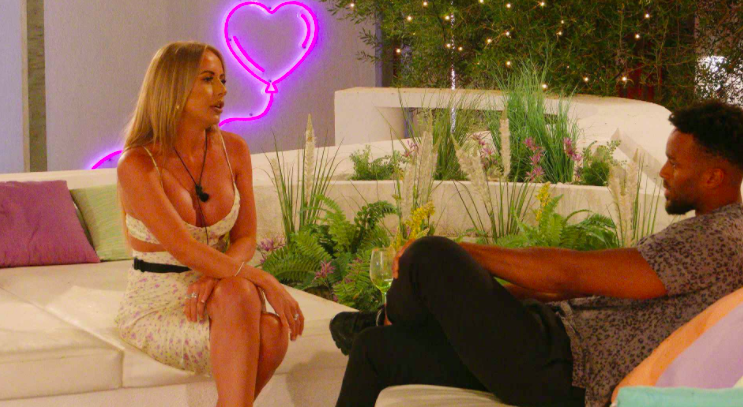 Domestic abuse charity releases statement following row between Faye and Teddy on Love Island 2021