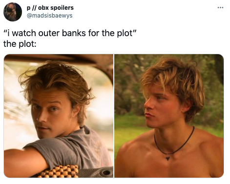 The best memes and reactions about Outer Banks season two on Netflix