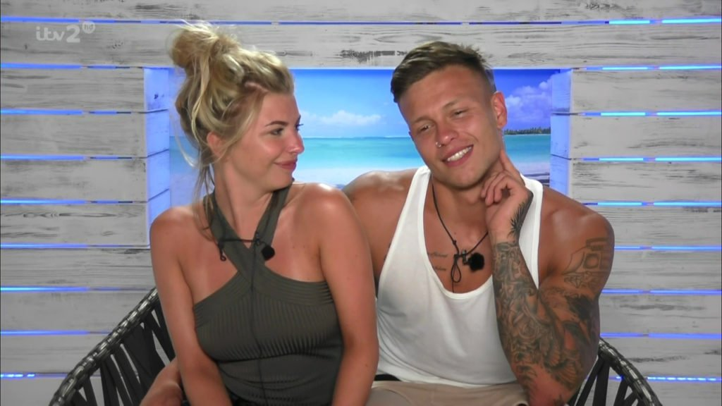 A ranking of the couples who had the most sex scenes in the Love Island villa