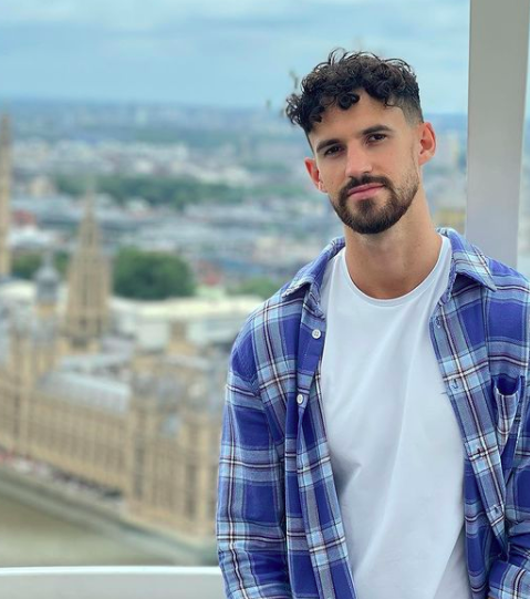 A ranking of the Love Island 2021 contestants by who gained the least Instagram followers, Matthew MacNabb