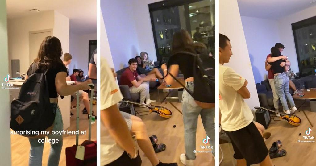 TikTok couch guy, TikTok viral video