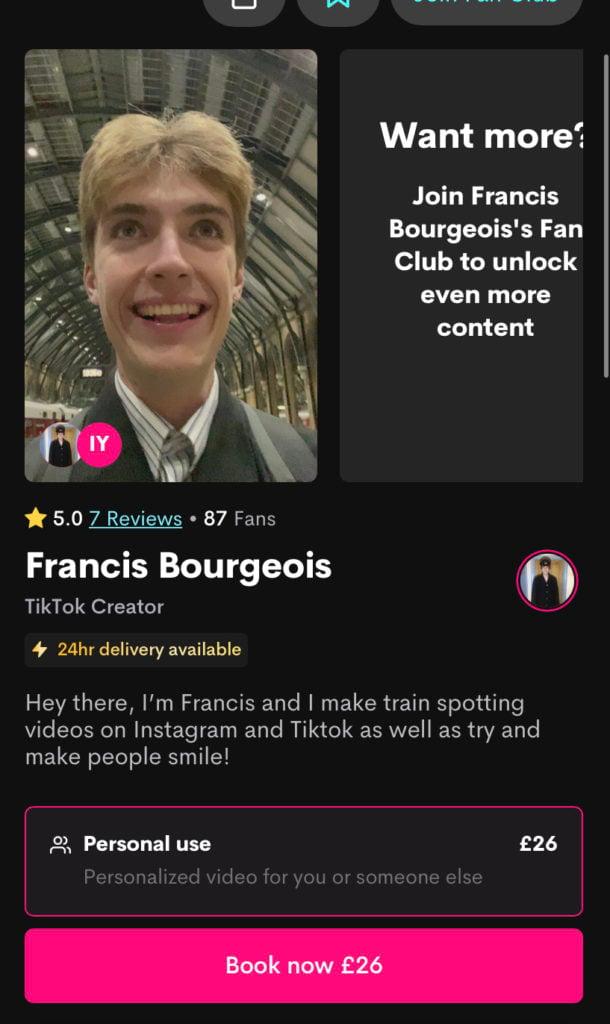 Cameo-Francis-Bourgeois-Tiktok-trainspotter