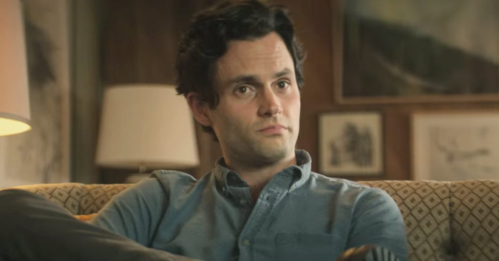 A trivia quiz all about Joe Goldberg from you on Netflix