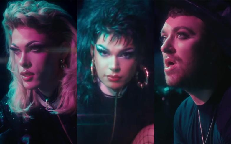 Drag Race queens music video