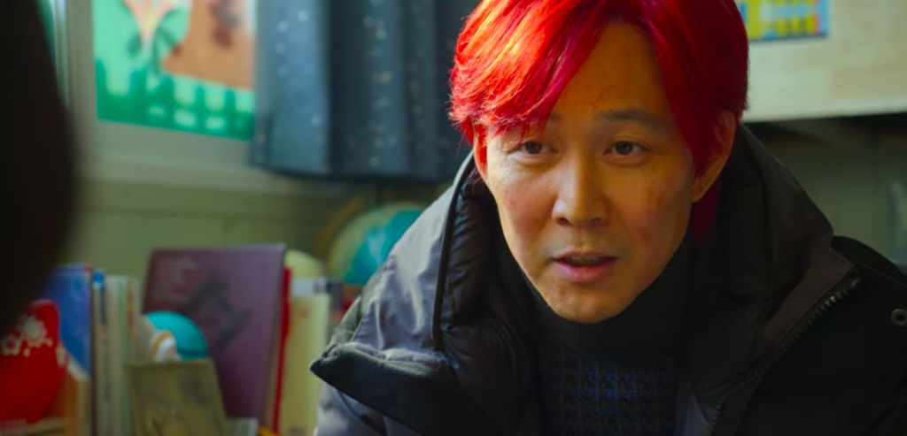 Creator of Squid Game on Netflix reveals the reason why and meaning behind when Gi-hun dyed his hair red at the end