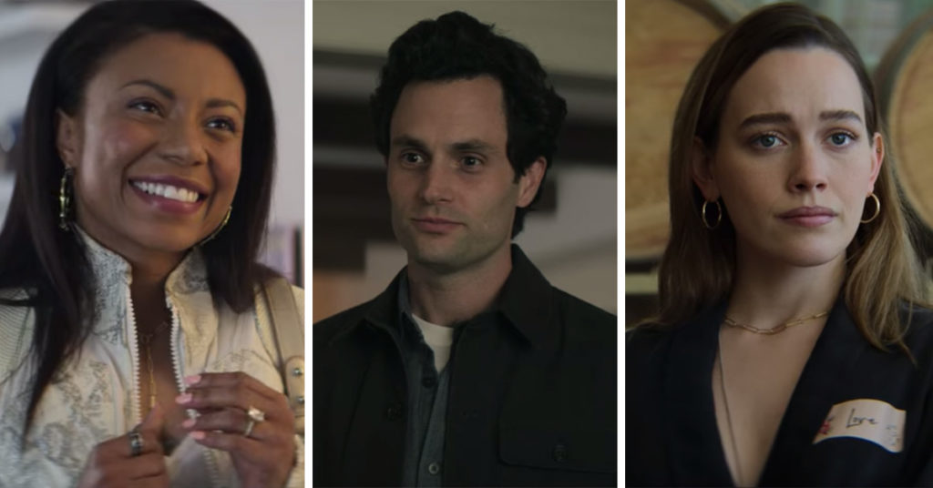Personality quiz to see which character from season three of YOU on Netflix you are