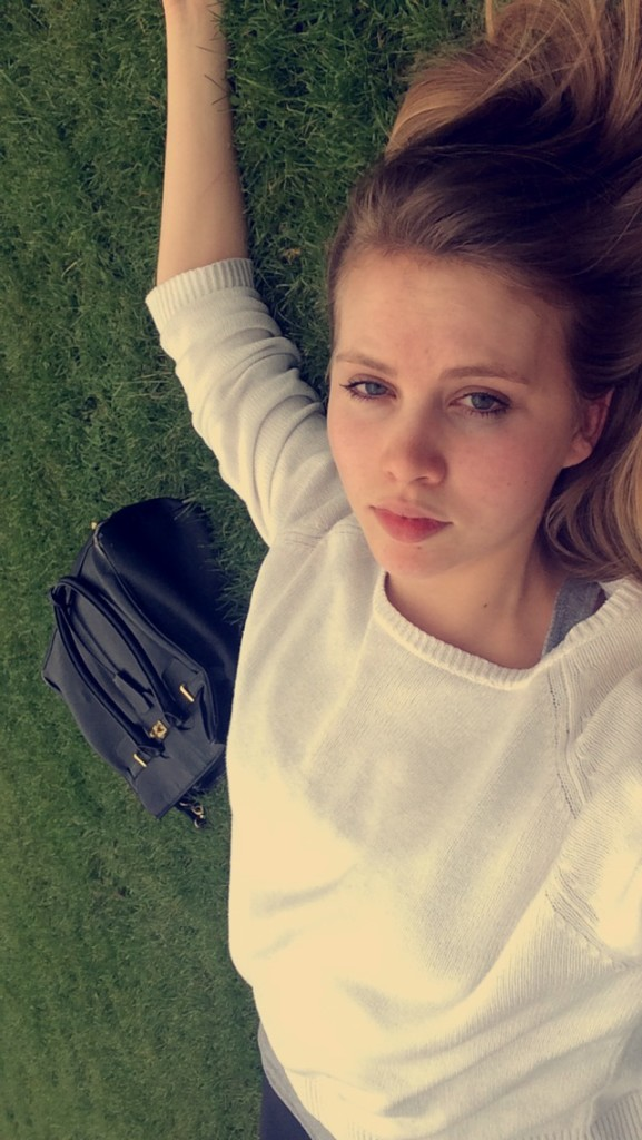 Day 42: I didn't have the energy to walk home so I laid on the lawn for an hour