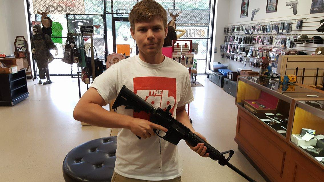 The AR-15 they offered