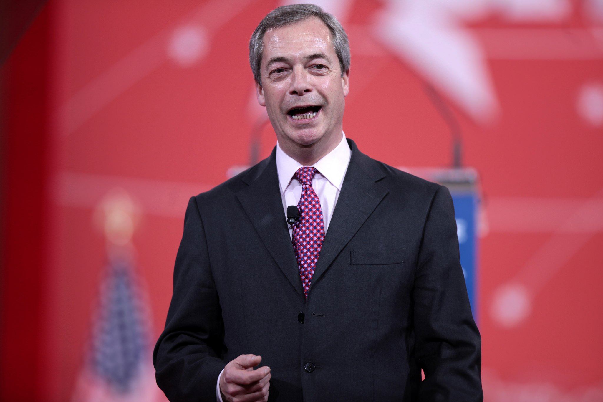Leave campaigner Nigel Farage