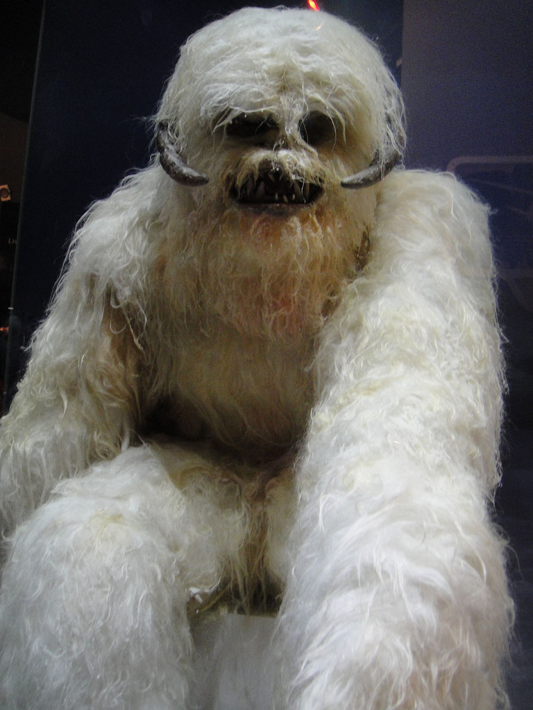 The Wampa from Star Wars Episode V. Cryptopia did it first.