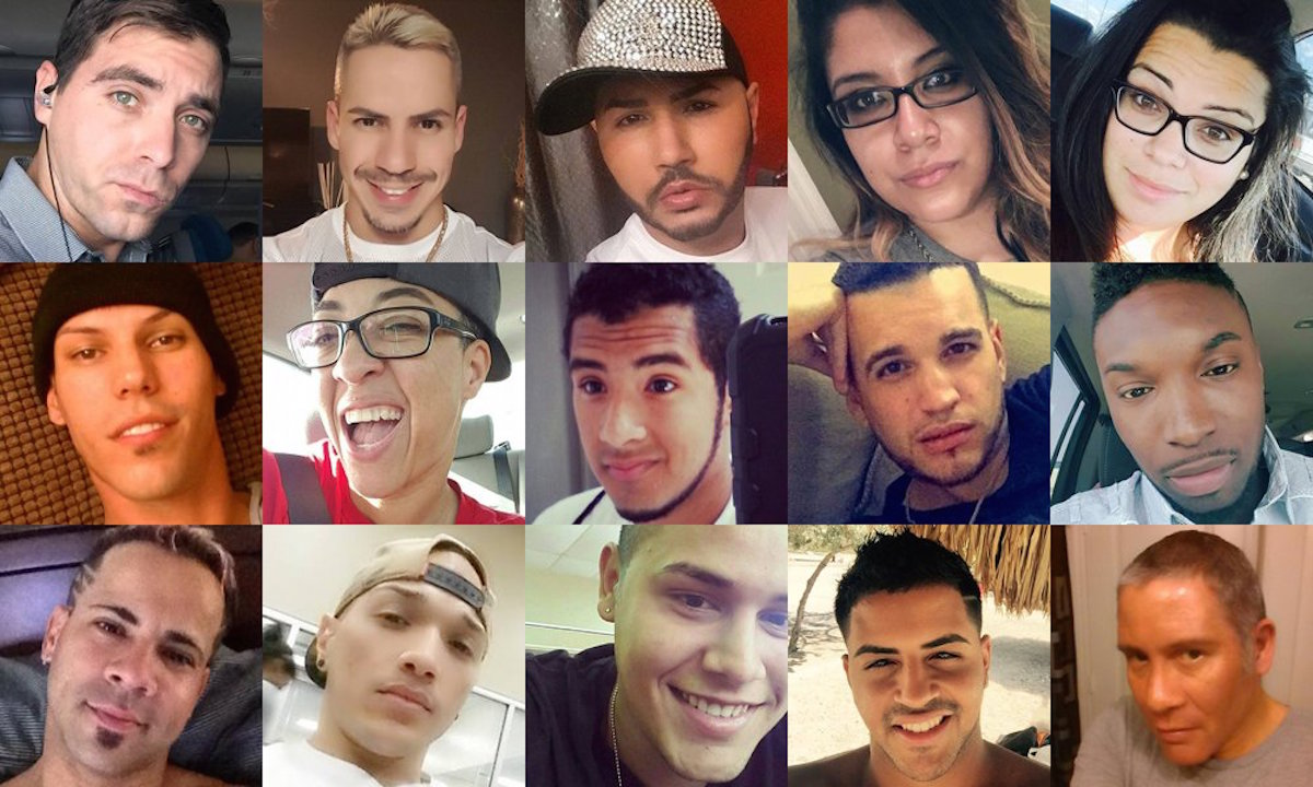 Some of those who lost their lives in Orlando