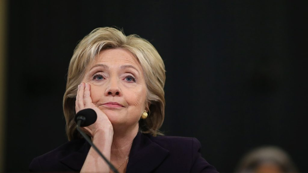 Hillary Clinton was tired of your shit at the Benghazi hearing, and she's tired of it now.