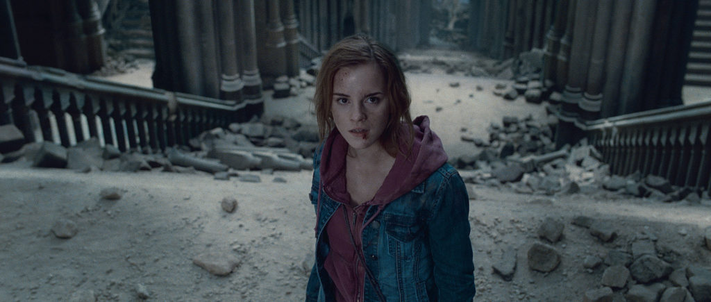 EMMA WATSON as Hermione Granger in Warner Bros. PicturesÕ fantasy adventure ÒHARRY POTTER AND THE DEATHLY HALLOWS Ð PART 2,Ó a Warner Bros. Pictures release.