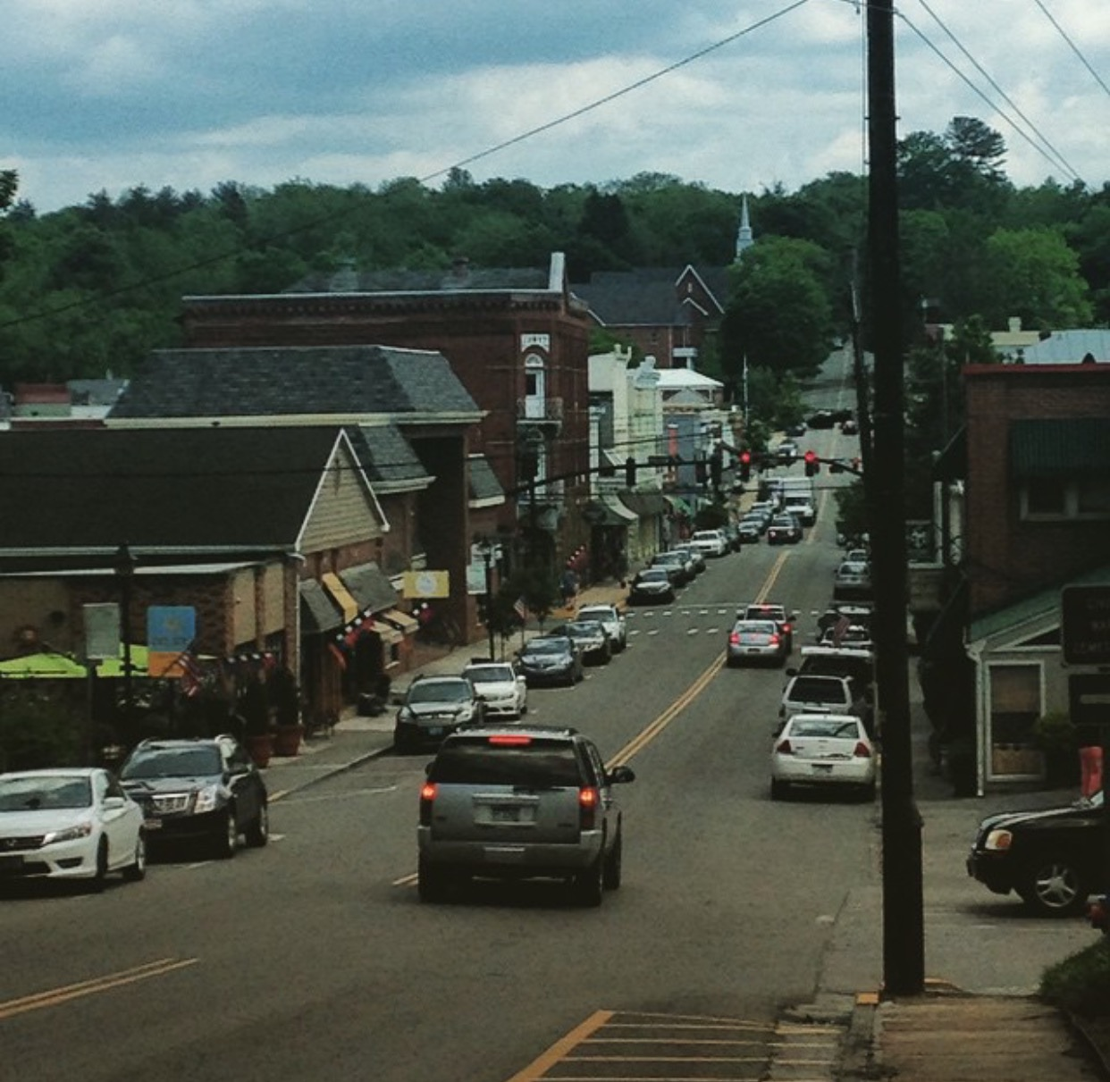 Lewisburg, WV, a small mountain town like Point Pleasant.