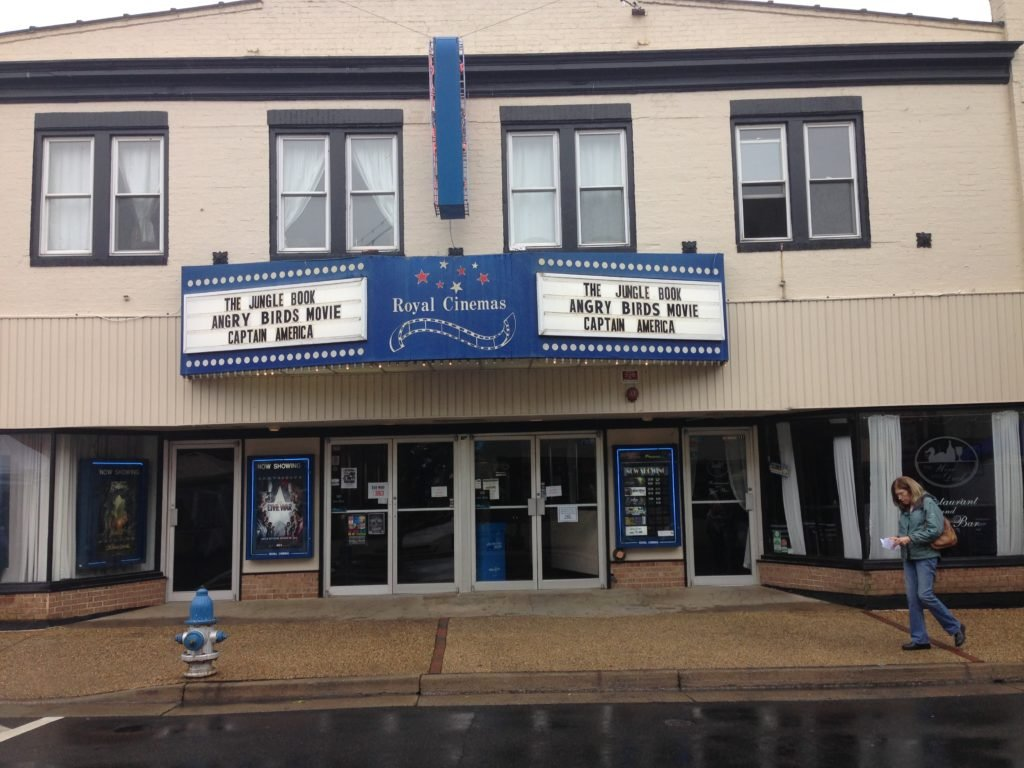 A Movie Theater in Front Royal.