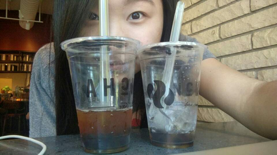 Finally reunited with my one true love, bubble tea.