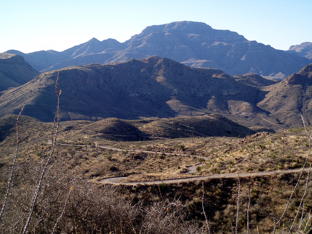 Pinto Canyon in the Chinati Mountains
