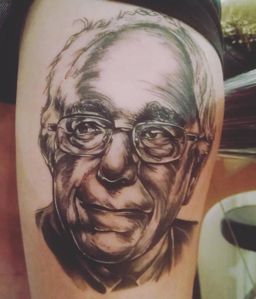 We asked sanders fans if they regret getting their bernie for Tattoo parlors in vermont