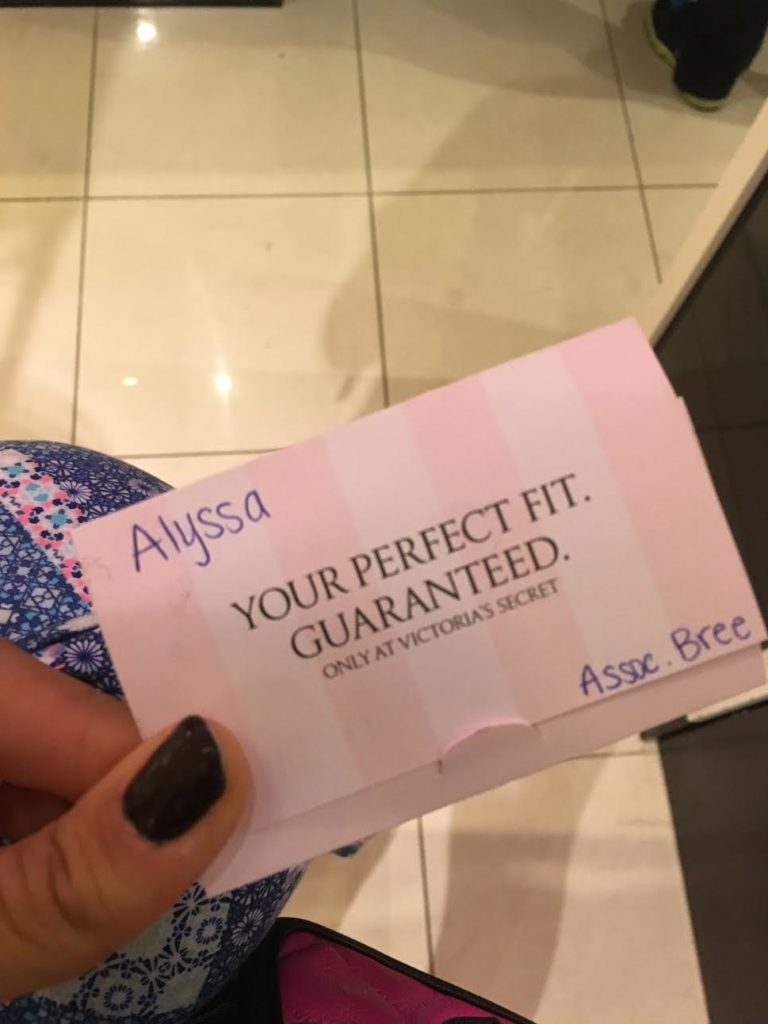 30797705b22 What really happens in a Victoria s Secret bra fitting