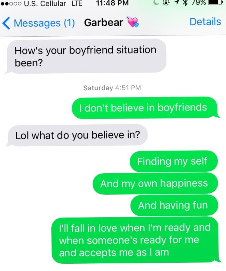 what i want in a boyfriend
