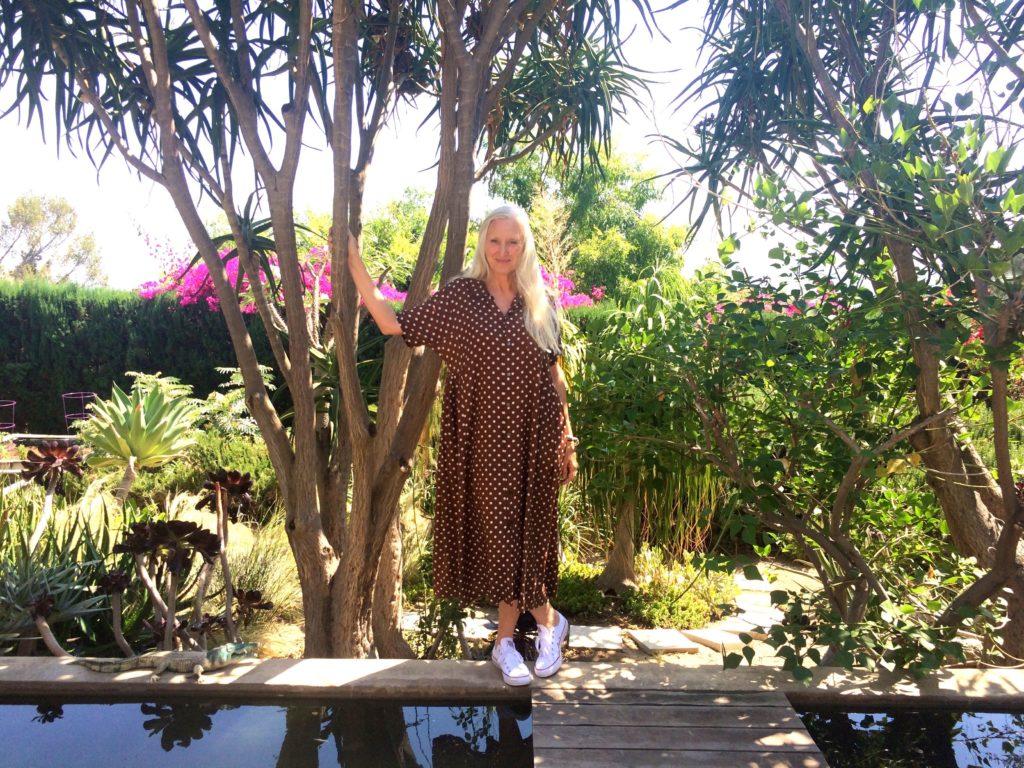 Gillean in garden home