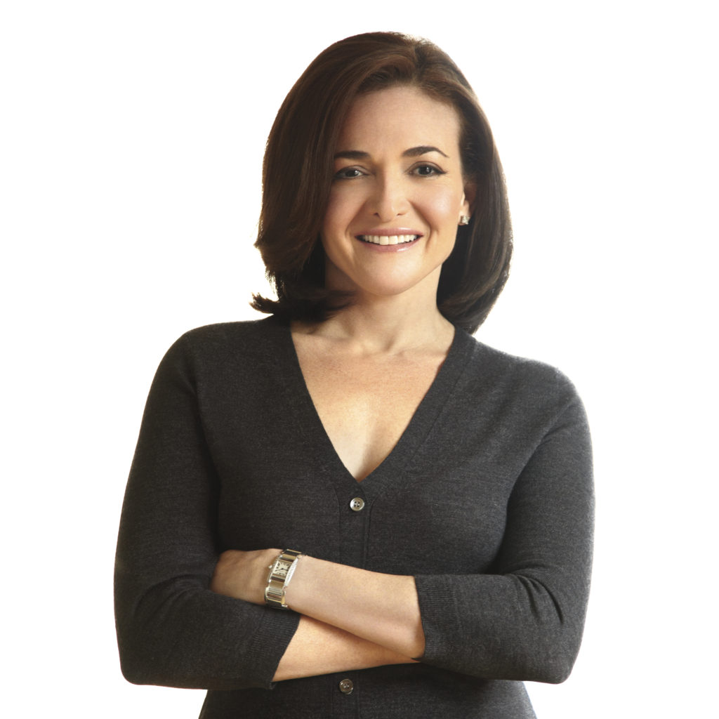 Lean In founder, Sheryl Sandberg