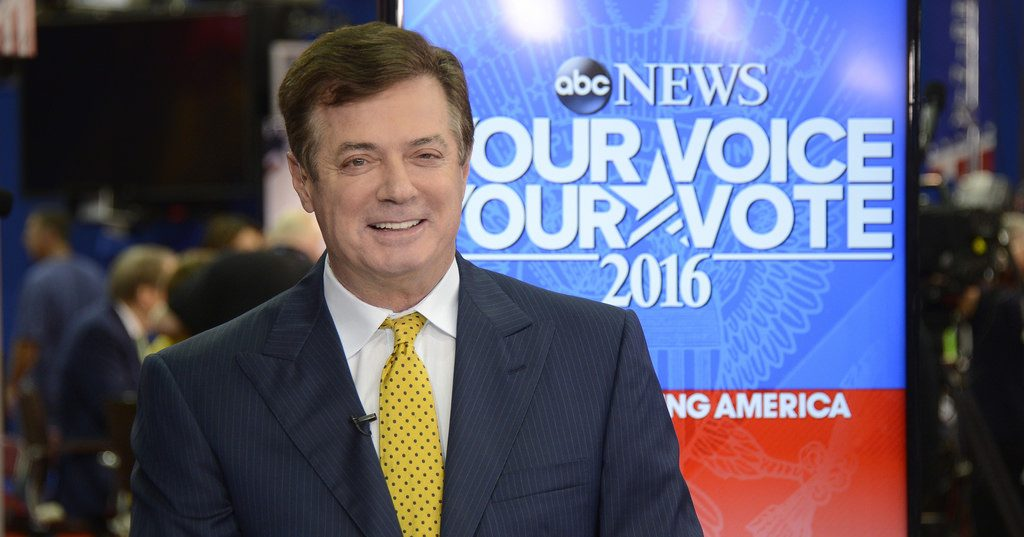 ABC NEWS - 7/20/16 - Coverage of the 2016 Republican National Convention from the Quicken Loans Arena in Cleveland, Ohio, which airs on all ABC News programs and platforms. GOOD MORNING AMERCIA broadcasts live from the convention floor. (ABC/ Ida Mae Astute) PAUL MANAFORT (TRUMP CAMPAIGN CHAIRMAN)