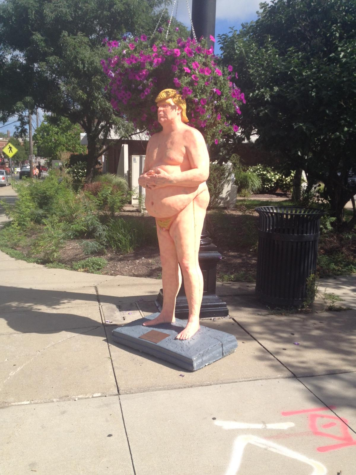 Statue in Cleveland. Photo courtesy of Jason Goodrich