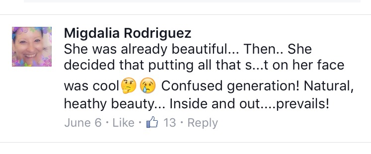 Yes someone can be beautiful before makeup...no confusion here.