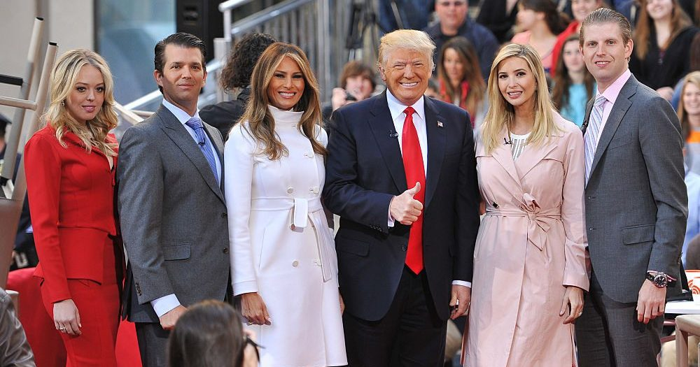 Ranking the Trump family by how much I want to punch them ...