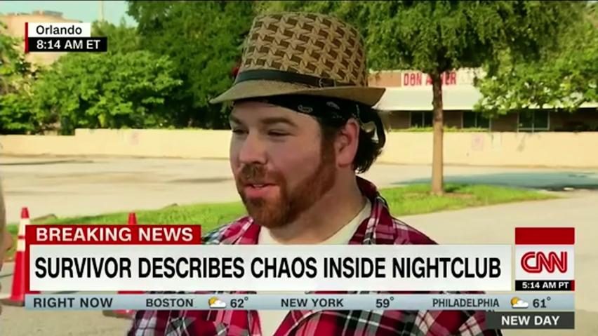 Photograph of Chris Hansen from CNN news