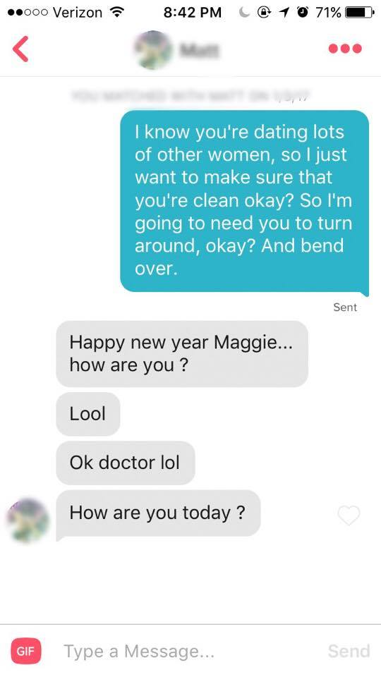 I used lines from The Bachelor on Tinder and guys loved it